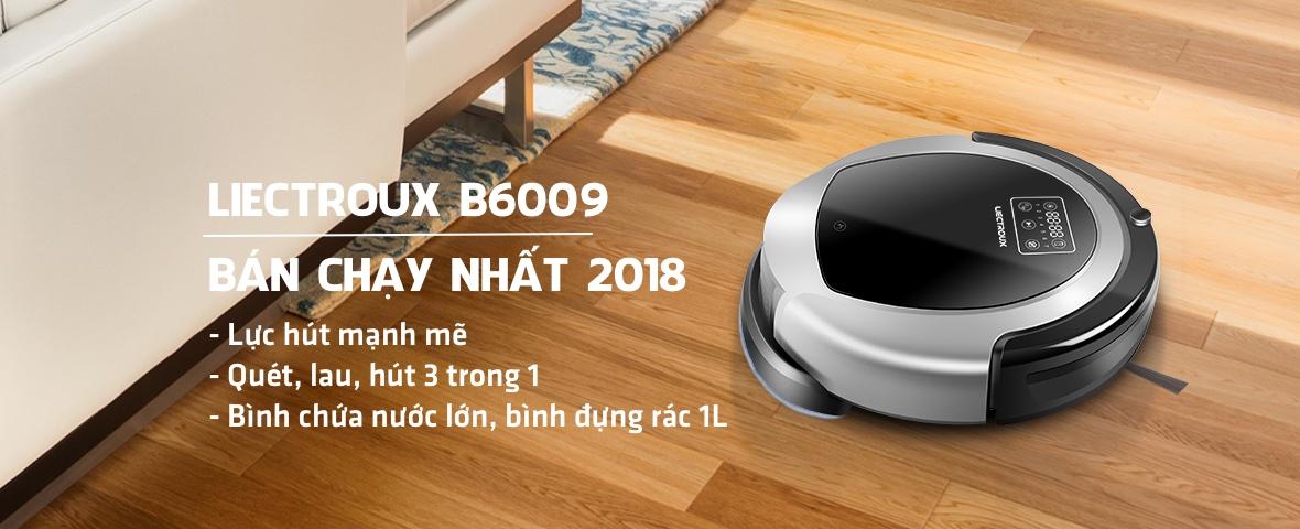 Robot hut bui Liectroux B6009