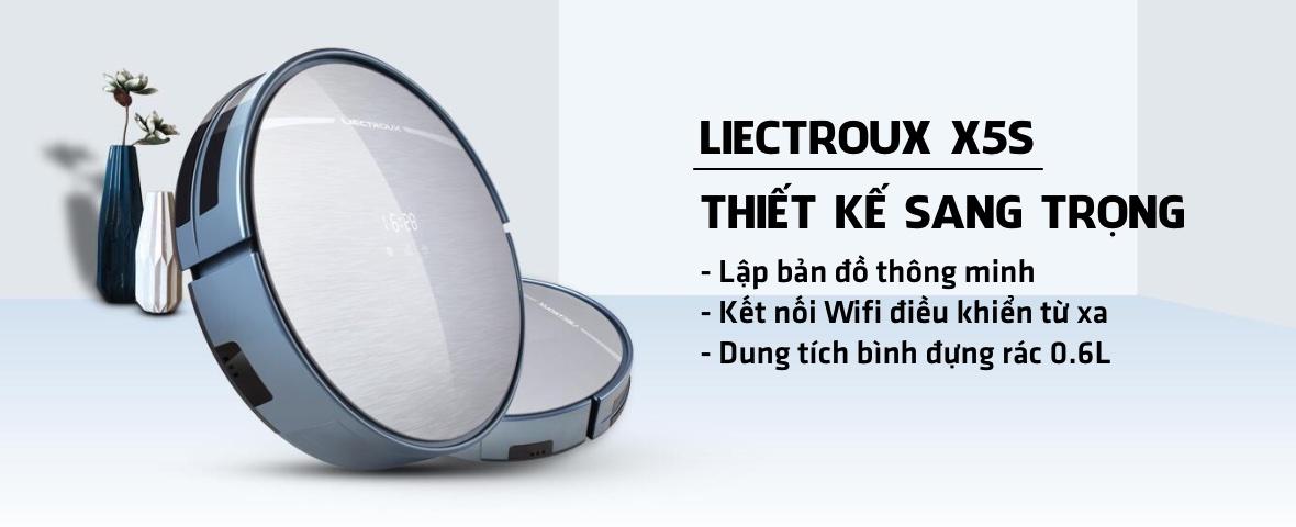 Robot hut bui Liectroux X5S