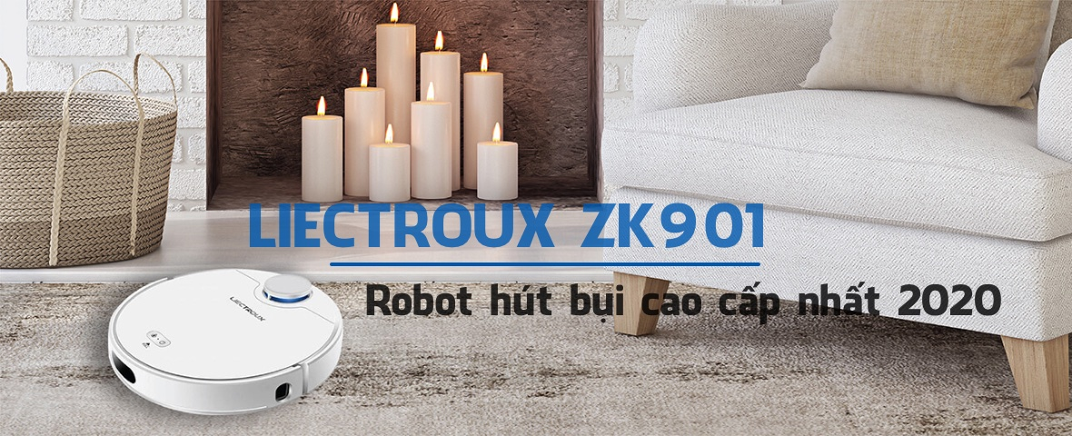Robot hut bui Liectroux ZK901