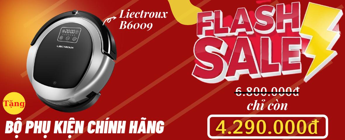 Flash Sale robot Liectroux B6009